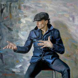 Портрет актера. Творческий человек. Актер театра