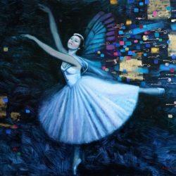 Бабочка. Балерина. Вдохновение.