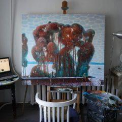 Картина в студии