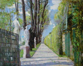 Летний сад. Весенний день. Санкт-Петербург