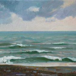 Средиземное море. Морская волна